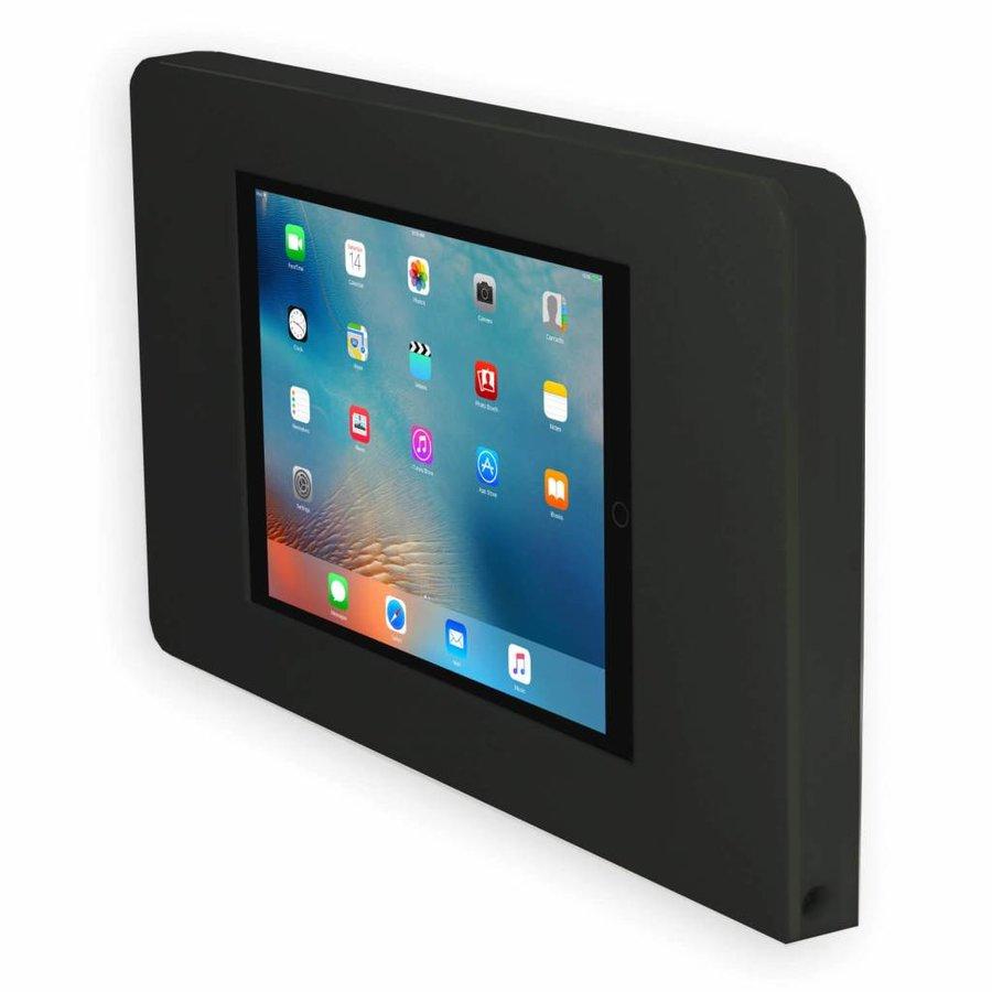 iPad 9,7-inch muurhouder inclusief een Apple Air 32GB Wi-Fi, vlak tegen wand montage iPad Pro 9.7/Air; Piatto, zwart