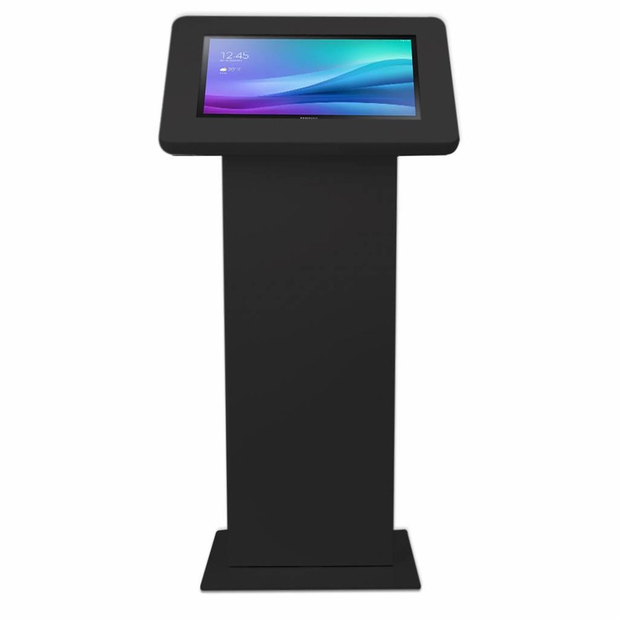 Display vloerstandaard voor monitors en touchscreen tablets, zwart, Largo
