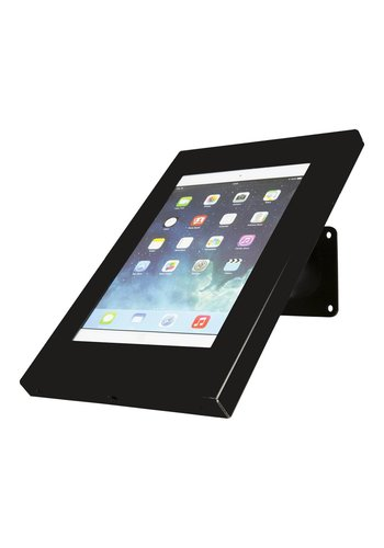 "Tablethouder zwart, wand-,tafelmontage iPad 9.7 & 10.5-inch; Securo 9-11"" tablets"