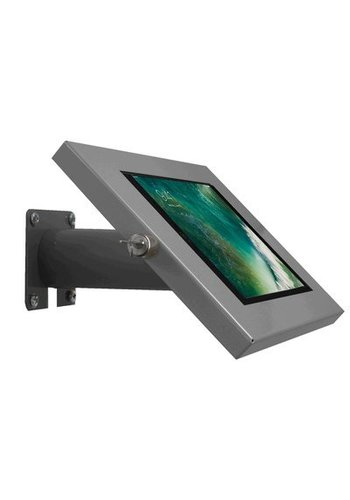 "Tablethouder zilvergrijs, wand-,tafelmontage iPad 9.7 & 10.5-inch; Securo 9-11"" tablets"