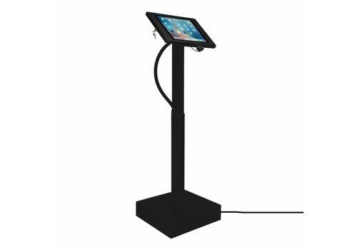 Vloerstandaard elektrisch hoogte verstelbaar 9.7-inch iPad zwart Fino Ascento