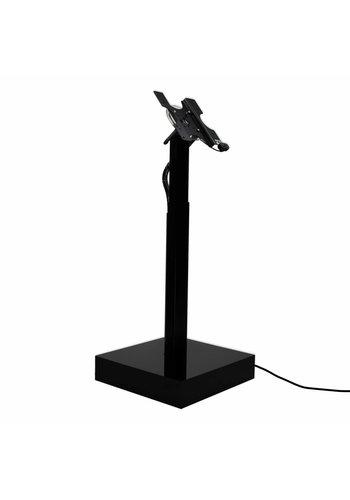 Vloerstandaard elektrisch hoogte verstelbaar VESA Modulare wit Ascento