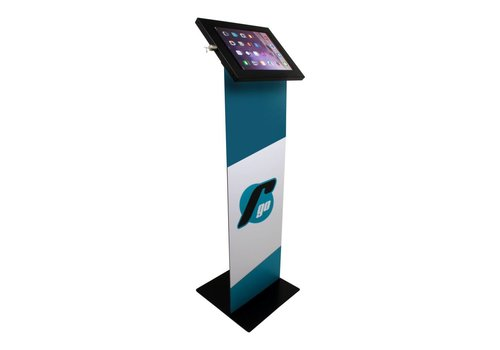 "Vloerstandaard display iPad 10.5"" Securo 10.5"" zwart"