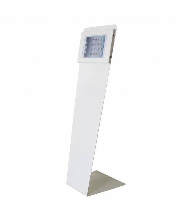 Bravour Kiosk stand for tablets 9-11 inch, Kiosk-Securo, white