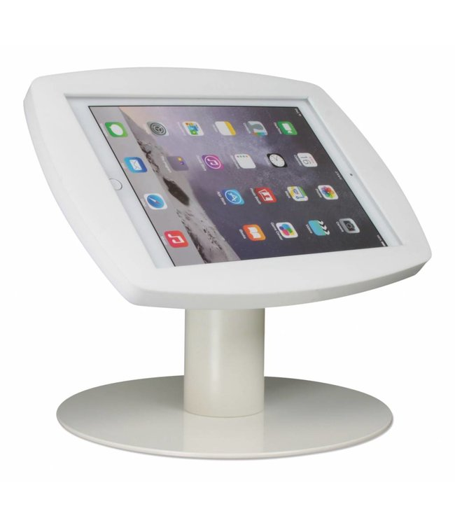 "Bravour iPad kiosk for iPad Air/iPad Pro 9.7"", Desk Stand Lusso, white"