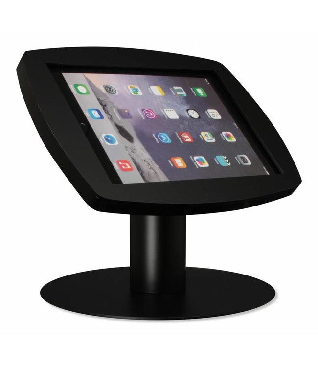 "Bravour iPad kiosk for iPad Air/iPad Pro 9.7"", Desk Stand Lusso, black"