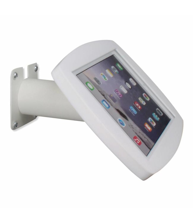 """Bravour iPad kiosk for iPad Air/iPad Pro 9.7"""", for mounting on table or wall, including lock, white"""