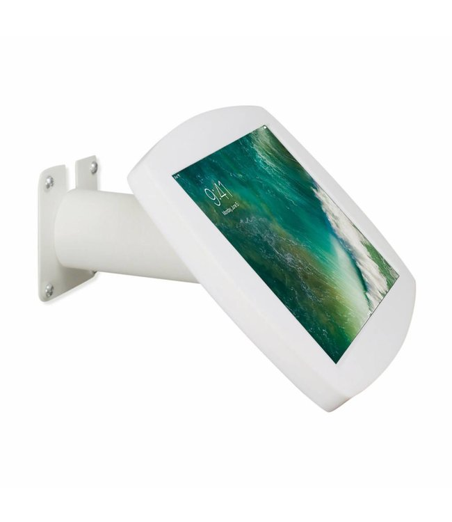 "Bravour iPad kiosk for iPad Pro 10.5"", for mounting on table or wall, including lock, white"