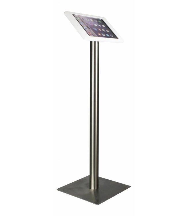 """Bravour iPad Bodenständer für iPad Pro 12.9"""", Fino, Weiss/Edelstahl"""