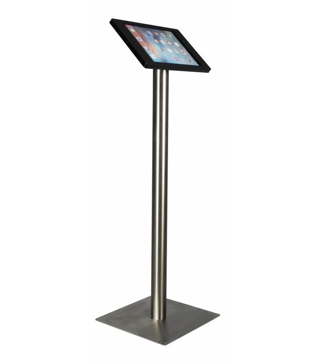 "Bravour iPad Floor Stand for iPad Pro 12.9"", Fino, black/stainless steel"