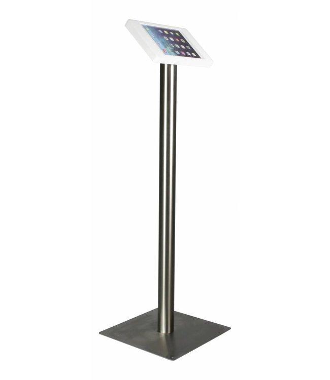 """Bravour iPad Bodenständer für  iPad Air/iPad Pro 9.7"""", Fino, Weiss/Edelstahl"""
