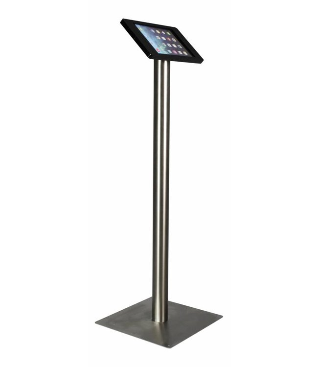 """Bravour iPad Bodenständer für iPad Air/iPad Pro 9.7"""", Fino, Schwarz/Edelstahl"""