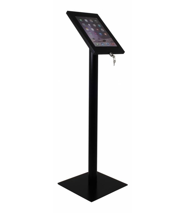 Bravour Tablet floor display stand for tablets 12-13 inch, Securo, universal casing, black