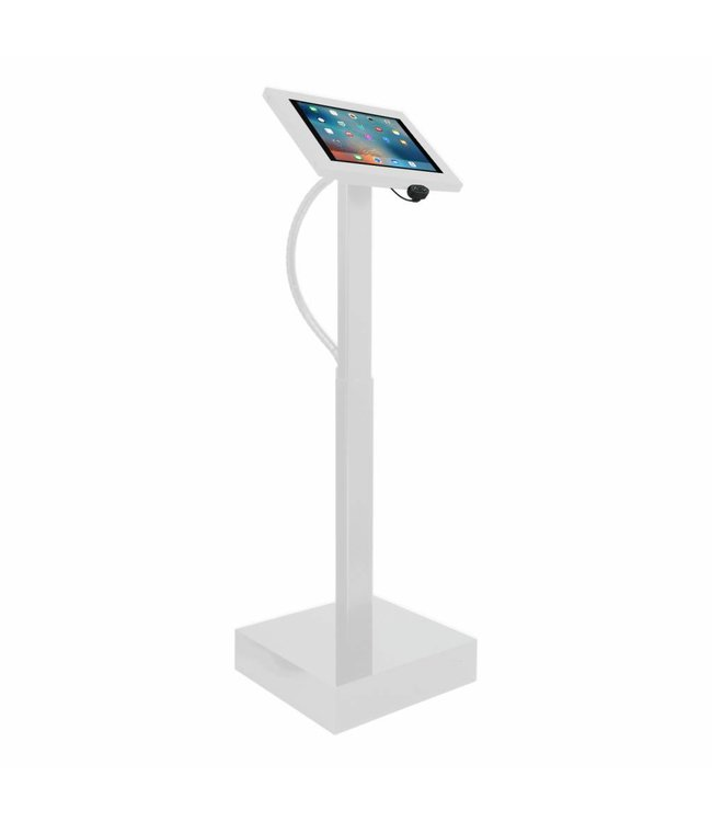 """Bravour Electronic height adjustable tablet display with universal Securo casing for all tablets between 12-13"""""""