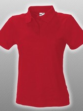 Fitted Polo Red