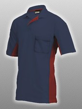 Tricorp Polo navy blue / red