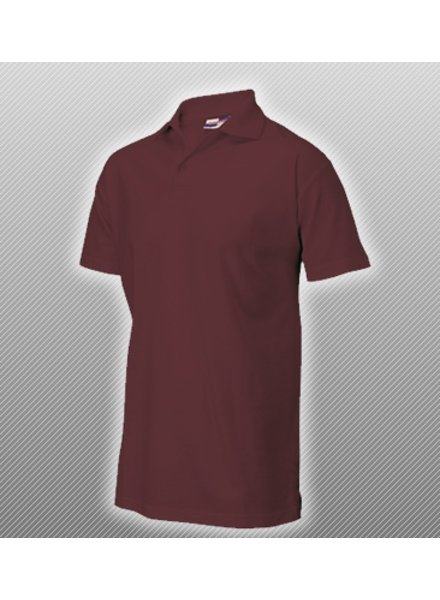 Polo Shirt Wijnrood
