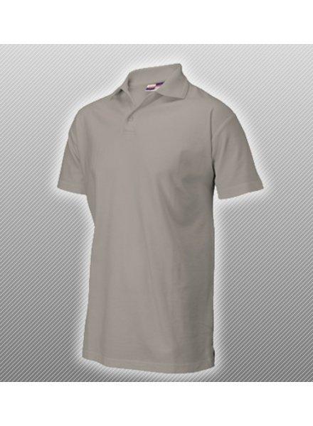 Polo Shirt Grijs gemeleerd