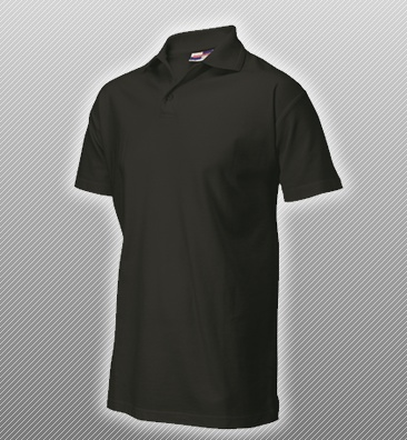 Tricorp Polo Shirt Embroidered Black