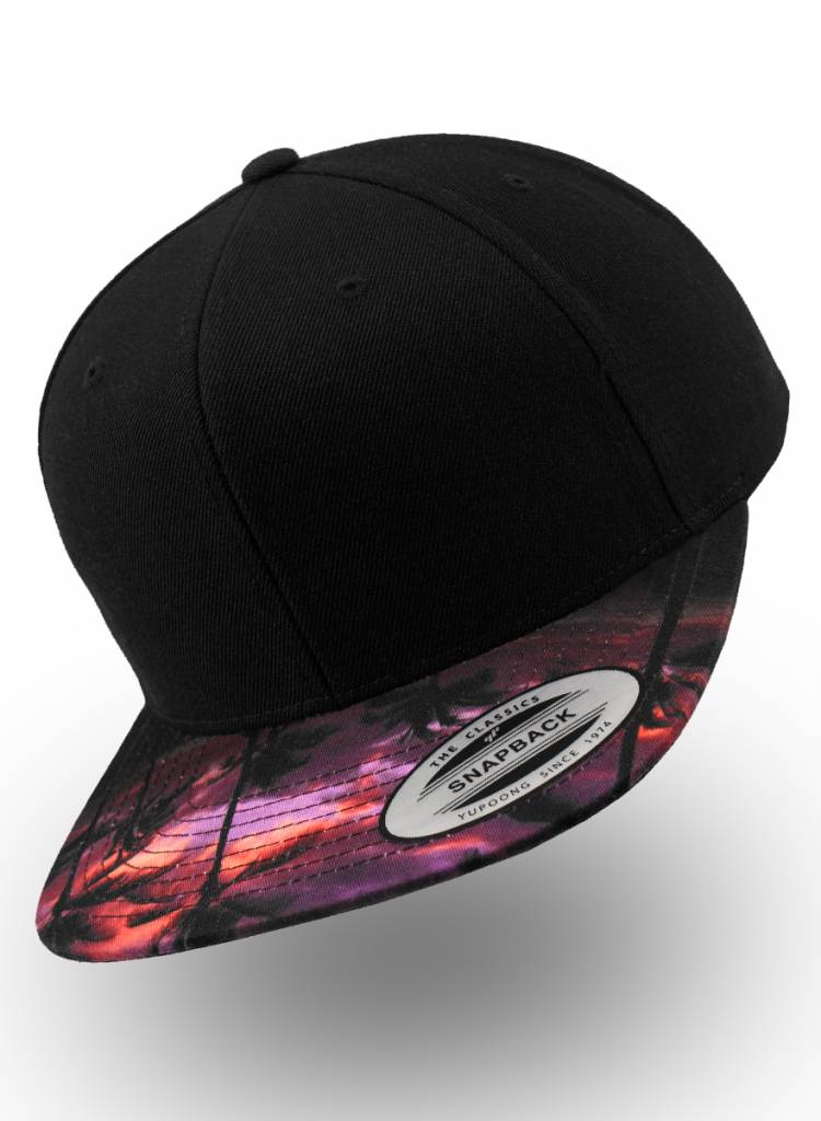 Flexfit by Yupoong Snapback Sunset Peak