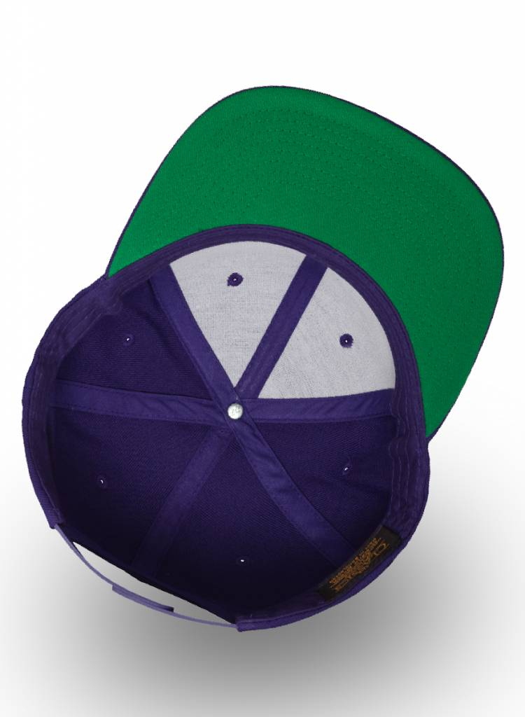Yupoong Flexfit Snapback Purple