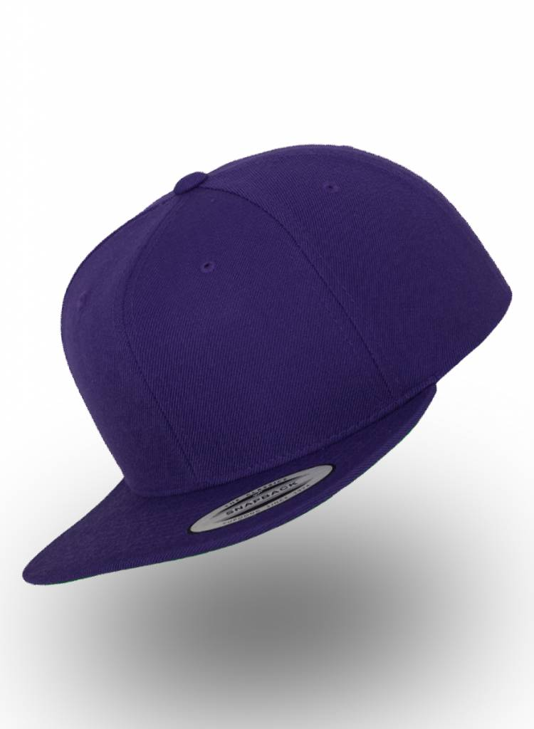Yupoong Flexfit Snapback Paars