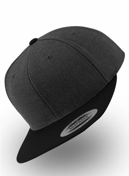 Flexfit by Yupoong Charcoal  - Black Snapback
