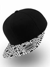 Yupoong Flexfit Snapback Black Geometric