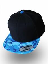 Yupoong Flexfit Snapback Black Camo Ocean