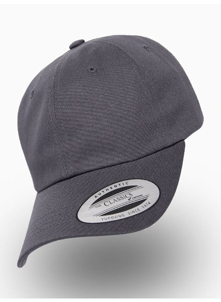 Yupoong Dad Cap Dark Grey