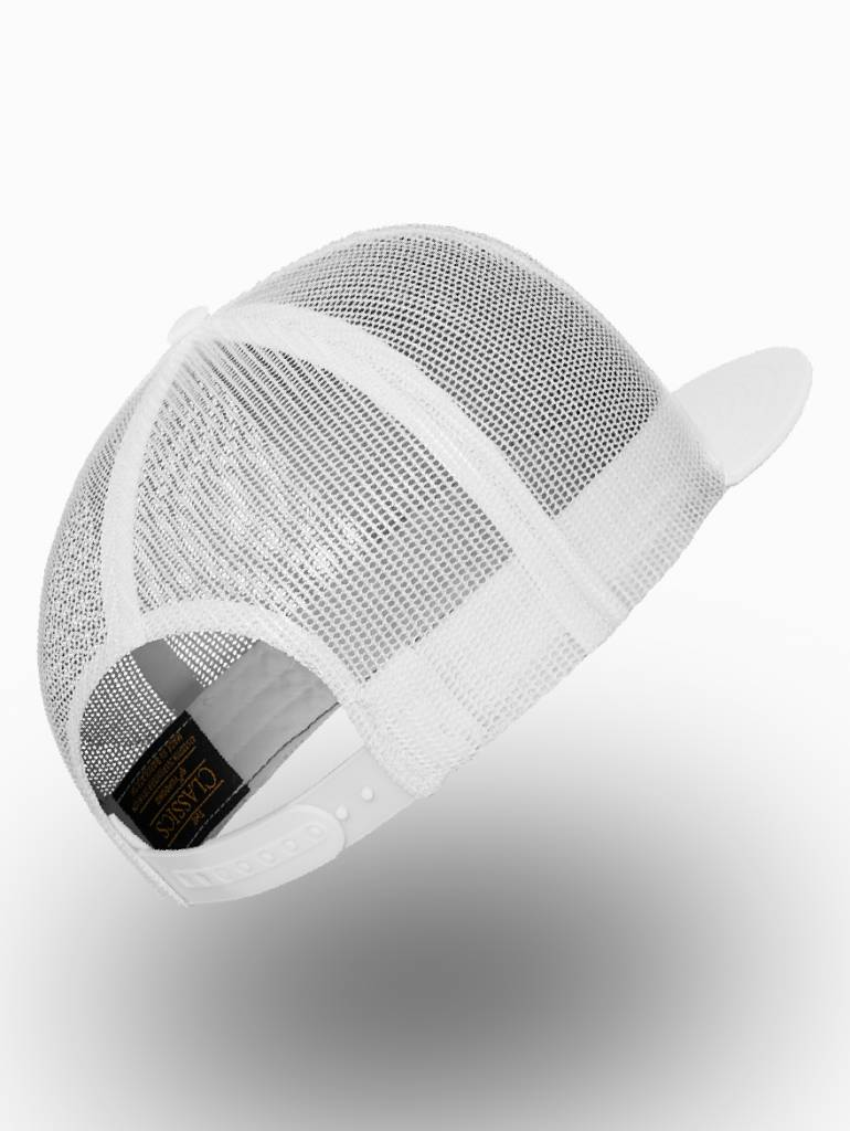 Yupoong Flexfit Truckers Cap Full White