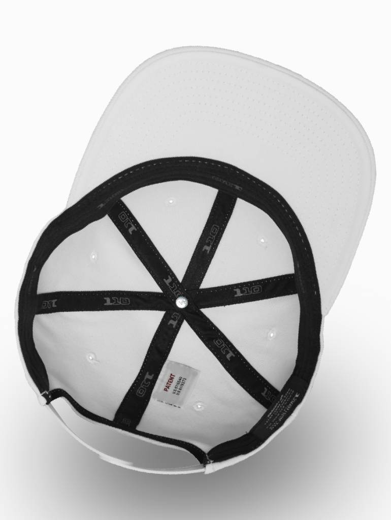 Yupoong Flexfit Snapback 110F White