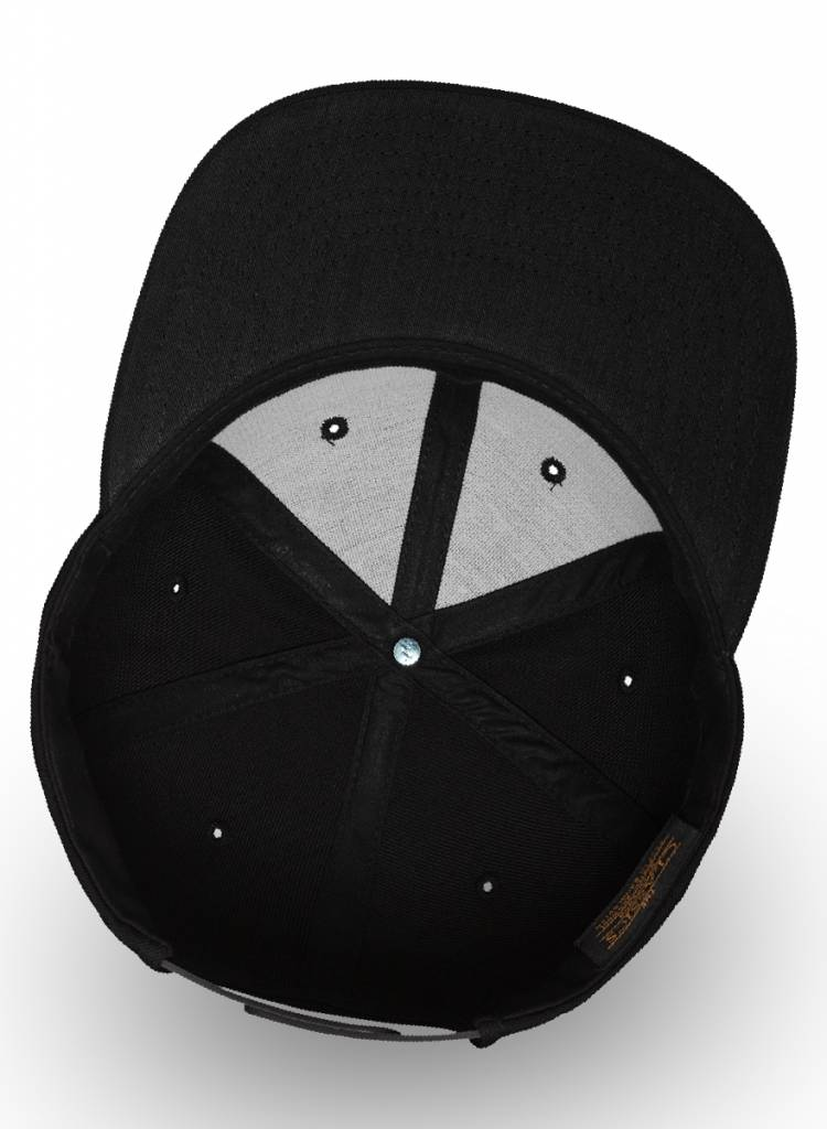 Yupoong Flexfit Snapback Full Black