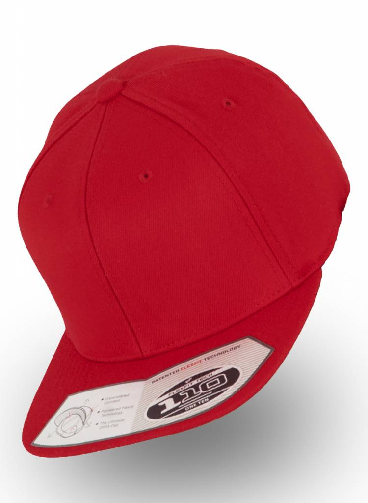 Yupoong Flexfit Snapback 110F Red