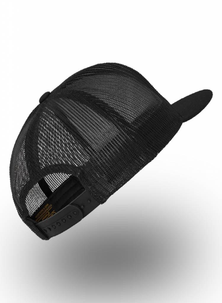 Yupoong Flexfit Truckers Cap Full Black