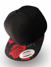 Yupoong Flexfit Red Rose Snapback