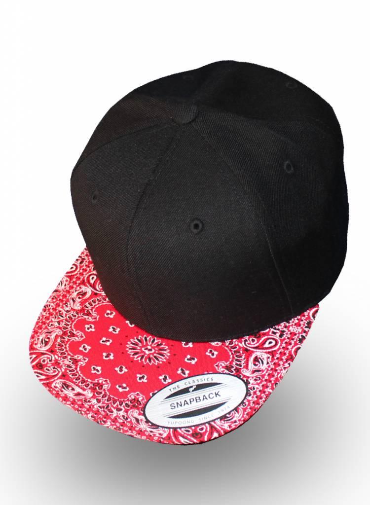 Yupoong Flexfit Snapback Red Bandana