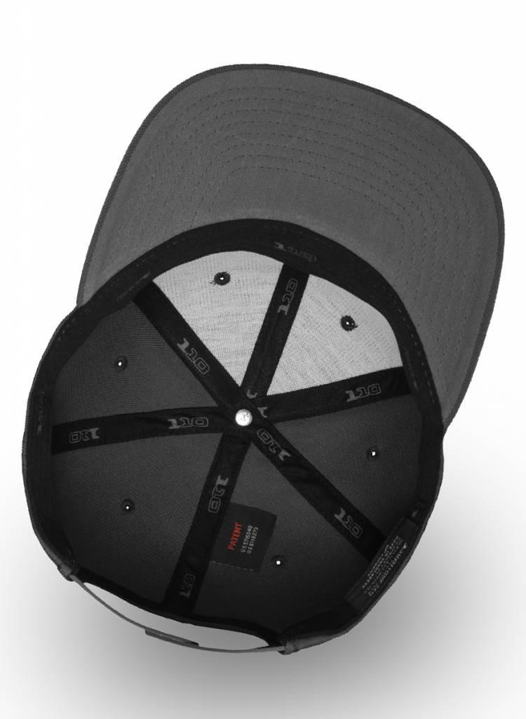 Yupoong Flexfit Snapback 110F D.Grey