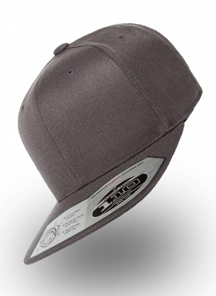 Yupoong Flexfit Snapback 110F D.Grijs