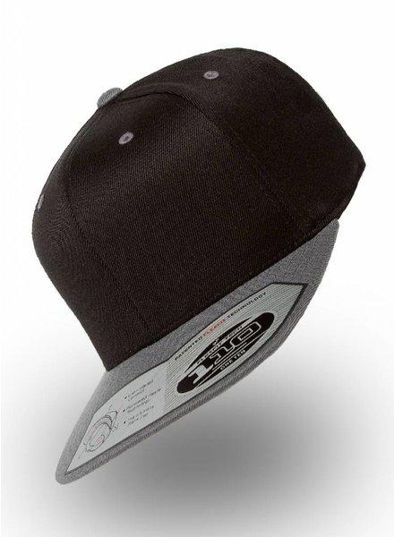 Yupoong Flexfit 110F Black-Grey