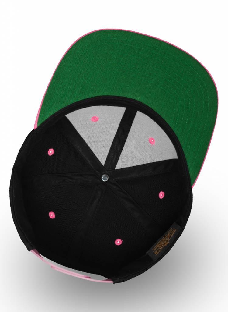 Yupoong Flexfit Snapback 2-tone Bright Pink / Fuchsia