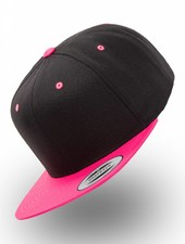 Yupoong 2-tone Neon Pink