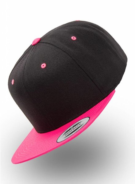 Yupoong Flexfit 2-tone Bright Pink