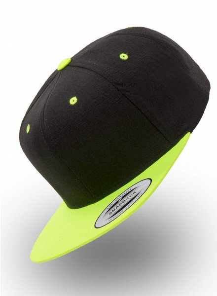 Yupoong Snapback Back Neon-Yellow