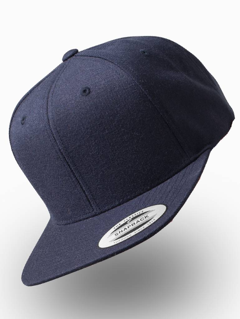 Yupoong Classic Snapback Kids Navy. Custom embroidery included ... 93462d0e228