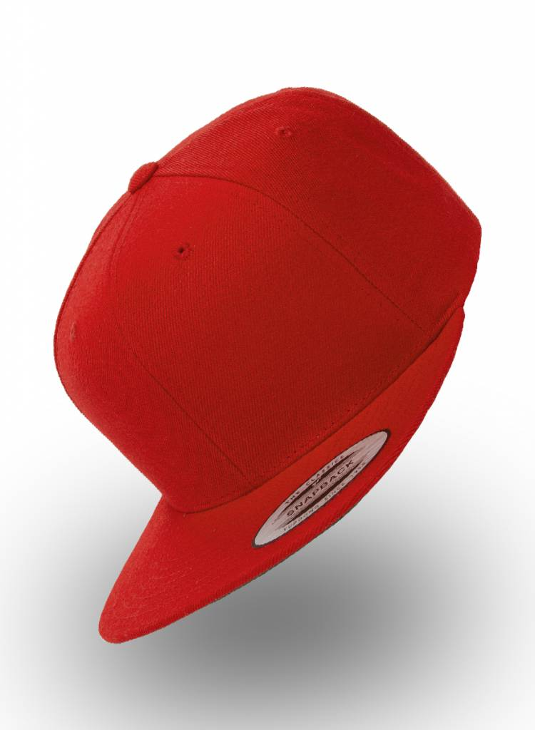 Yupoong Flexfit Snapback Red