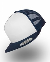 Yupoong Truckers Cap Navy Wit