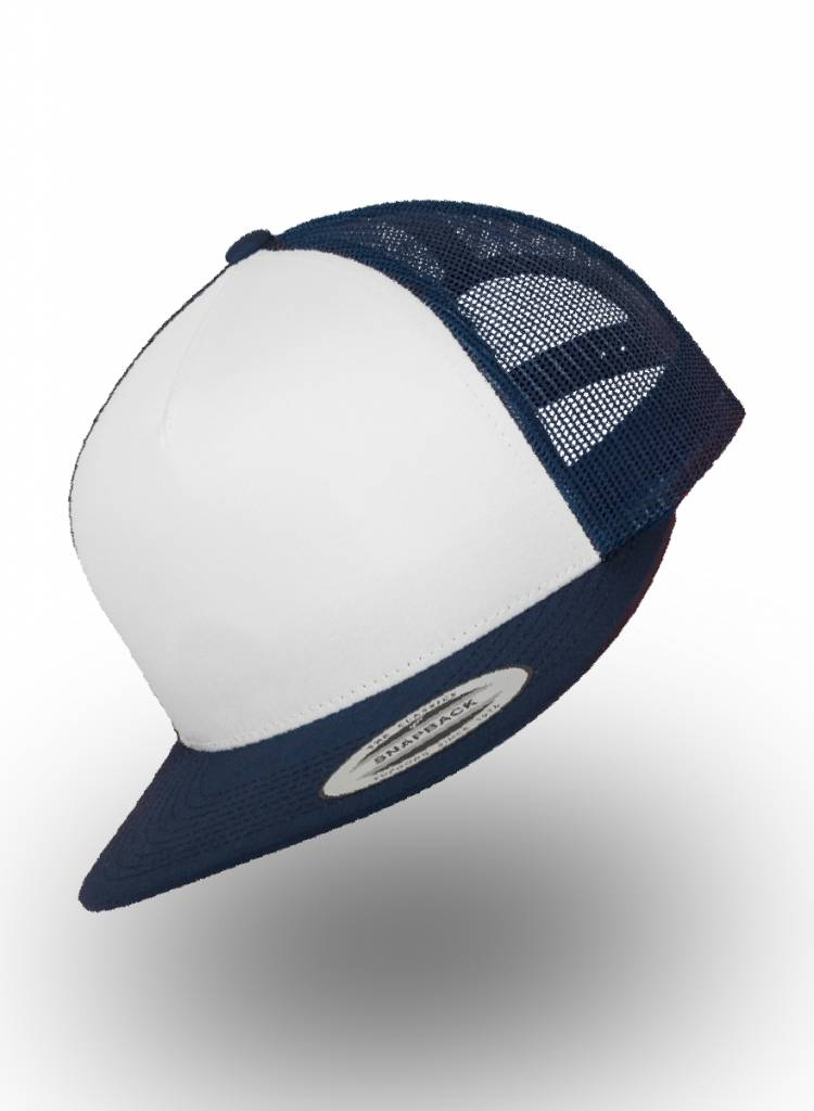 Flexfit by Yupoong Truckers Cap Navy White