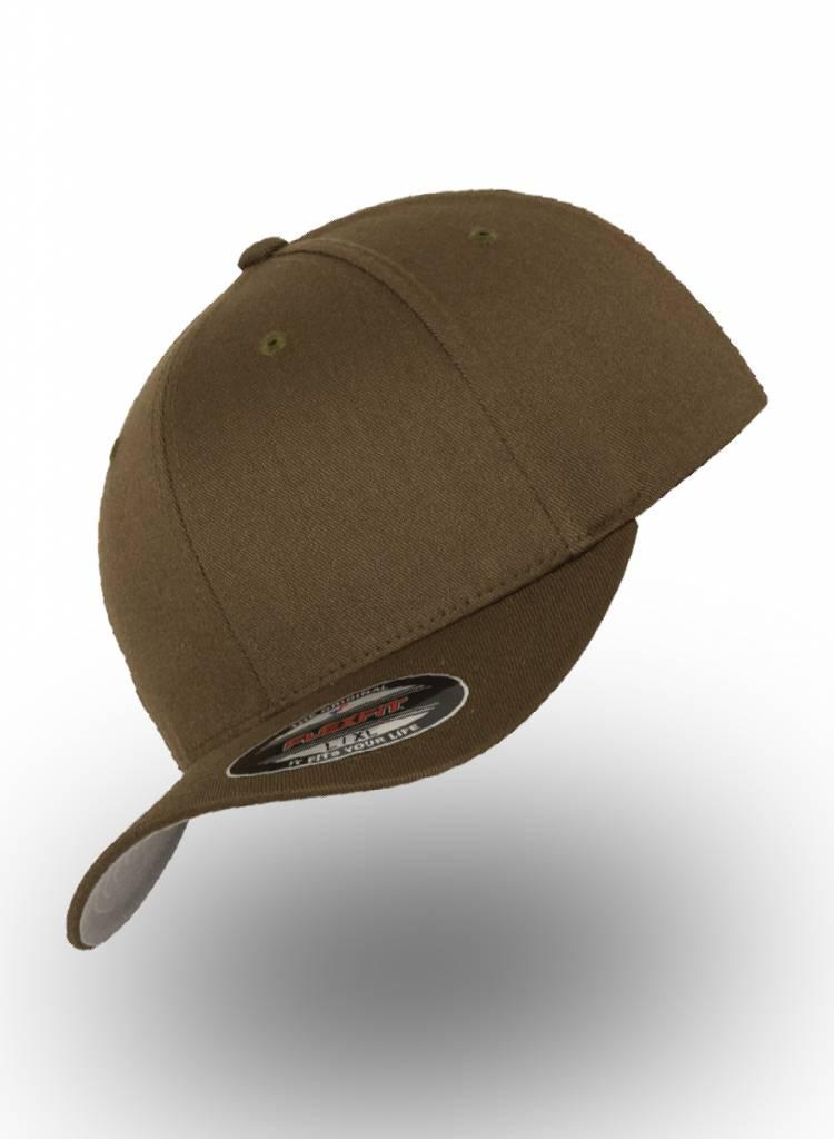 Yupoong Baseball cap met een dichte achterzijde