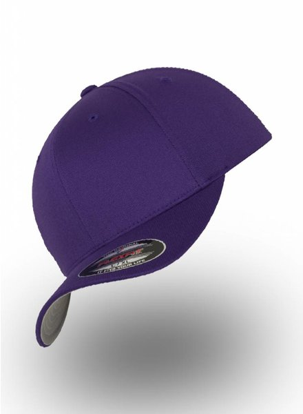 Yupoong Baseball Cap Fitted Purple